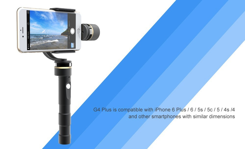 2015 go pro accessories handheld 3 axis phone gimbal, high quality handheld 3 axis smartphone gimbal