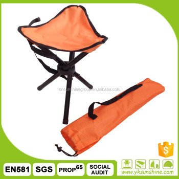 Portable folding foldable camping hiking hunting three leg traingle fishing tool chair with free carrying case