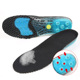 Sport shoes liquid filled carbon cell heated vibrating insoles