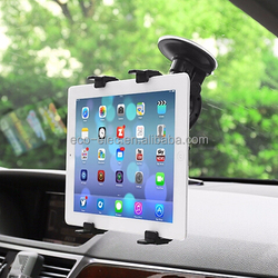 "2015 New Design Windshield Suction Car Mount Stand For iPhone iPad DVD GPS and other 4-10"" Devices Universal Tablet Car Holder"
