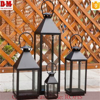 Outdoor Durable Decorative Classic Metal Candle Holder Parts