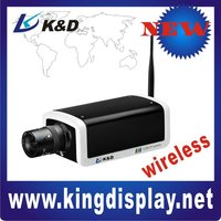 High Resolution IP Box Camera support 3G Network: EVDO( CDMA2000),WCDMA
