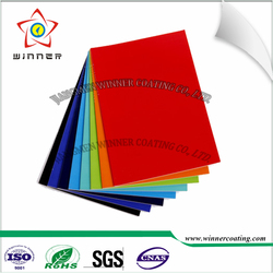 Aluminum Alloy motorized opening Aluminum louver roof colorful smooth effect electrostatic pure polyester powder coating paint