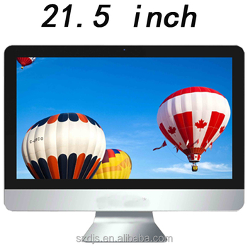 2017 HM65 chipset i3 i5 and i7 21.5inch all in one PC in Shenzhen DJS Tech