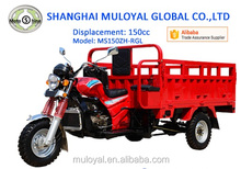 Petrol Tricycle Cargo Water Cooled Tricycle 3 Wheelers for Farm Use