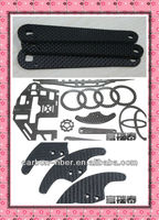 carbon fiber OEM frame plate /sheet for auto/motor body kits