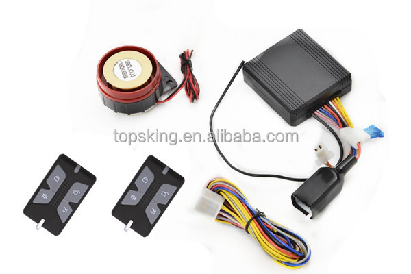 Motorcycle Alarm With Sensitive And Safe System