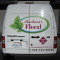 Custom shape permanent adhesive vinyl lettering decals
