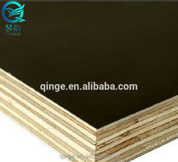 Wholesale Price 12mm Waterproof Marine Grade Melamine Coated Plywood