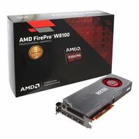 AMD FirePro W8100 8gb 512 bit ECC GDDR5 PCIe 3.0 x16 displayport 3D design graphic card