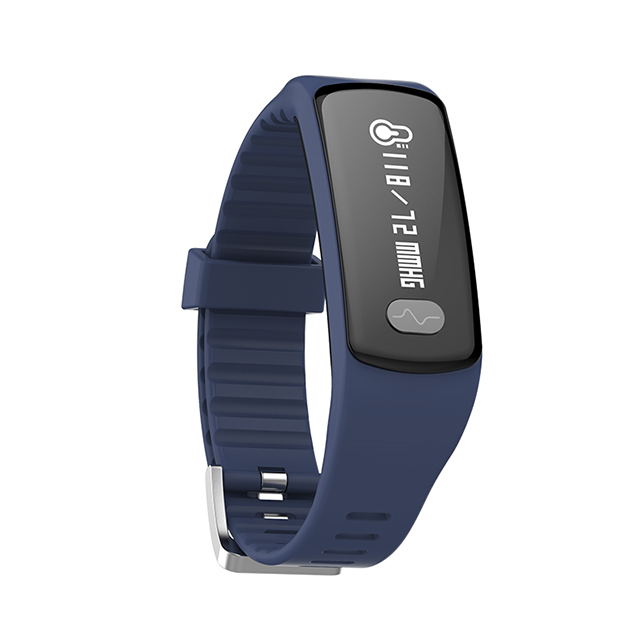 Blood Pressure smart band Heart rate monitor Fitness Tracker with ECG +PPG