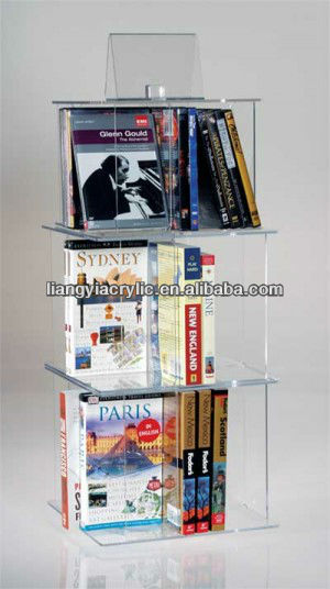 5 Piece Video/DVD/Book Carousel