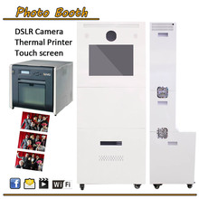 Dual CE approved for photo booth/photo kiosk/purikura/photo sticker machine