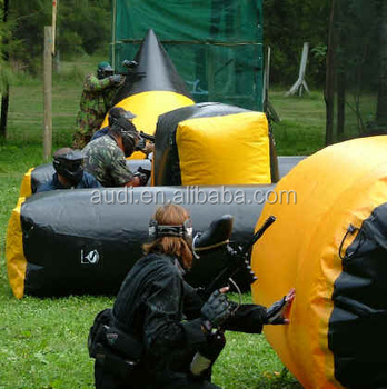 Most popular inflatable archery tag equipment bunkers, inflatable paintball, paintball bunker game for sale