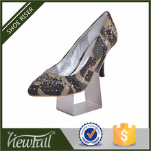 Exhibition shoe show matte finish metal samll stand for counter