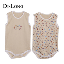 Beige New Style Custom Design Baby Clothes/newborn Baby Clothes Romper
