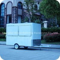 2013 High Quality Mini Spiral Potato Chips Kiosk Truck Cart Maker with Tow bar XR-FV300 A