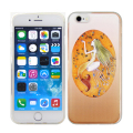 Mermaid Princess tpu liquid cover case for iphone 6 plus