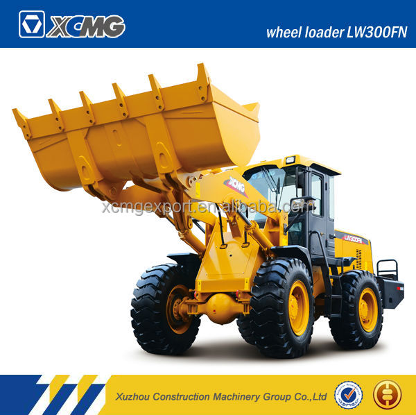 XCMG LW300FN 3ton used wheel loader for sale with ISO certification