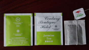 OEM cheap supply of 2 grams of paper plastic bag Jasmine Tea bag