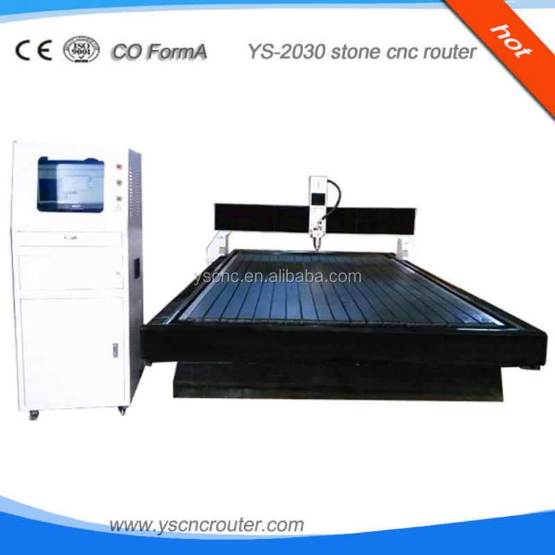 YS marble cnc stone engraving tools stone cutting machine
