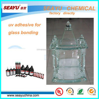 uv3320-middle viscosity uv glass glue for craft glass bonding
