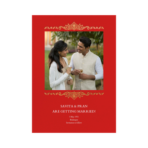 High Quality Elegant Hindu Wedding Invitations Indian Wedding Invitations