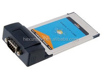 High Quality PCMCIA to RS232 RS-232 Serial DB9 CardBus Adapter Card