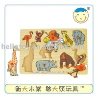 educational toys, Animal puzzle