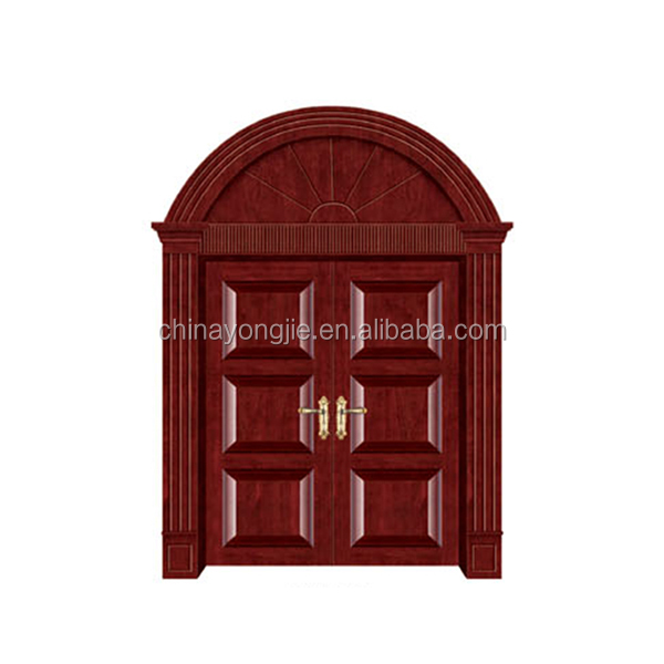 High quality cheap price Certificate CE ISO knotty pine door