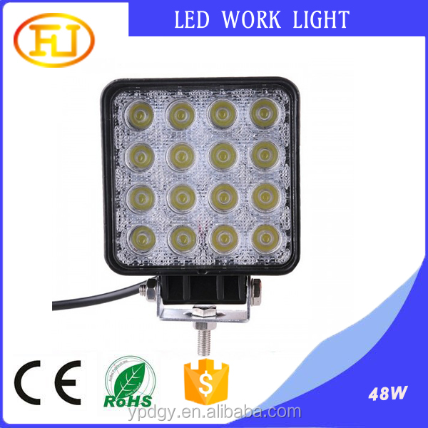 Fog lamp 48w led working work light for truck off road vehicle heavy duty work light