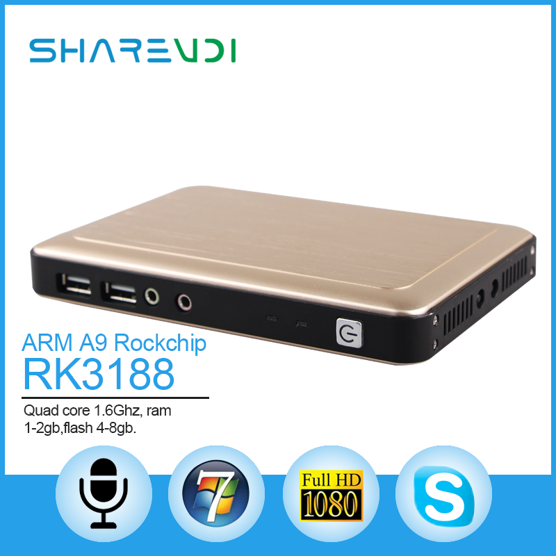 Zero client x6 support 1080p video and usb redirection, saving cost solution