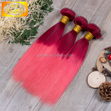 Hot Selling 100% Human Raw Wholesale Hair Cheap Ombre Hair Weaves For Black Women