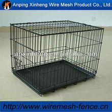 11 guage galvanized animal cage / high quality dog cage with tray ( Hot sale & ISO9001 )