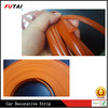 Clear Orange moulding trim strip Plastic edge trim
