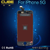 CUBE fast delivery cheap price for iphone 5 lcd with digitizer