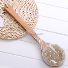 Fashion design body brush cleaner and bamboo brush wholesale