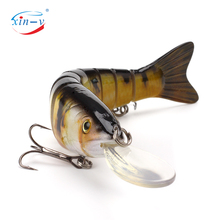 XINV Fishing Lures Packaging Float Musky Lures Bass Fishing Tackle Swimbait Lure