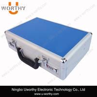 Fashion Hard Tool Carrying Case Storage Box Aluminum Carry Tool Box