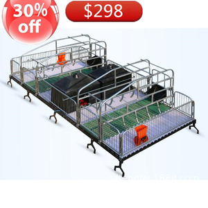 Save money pig equipments manufacture farrowing crate for sale in philippines