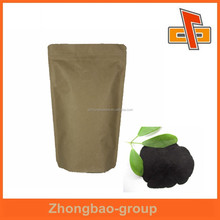 sachet printing ziplock stand up kraft paper bag for fertilizer packaging