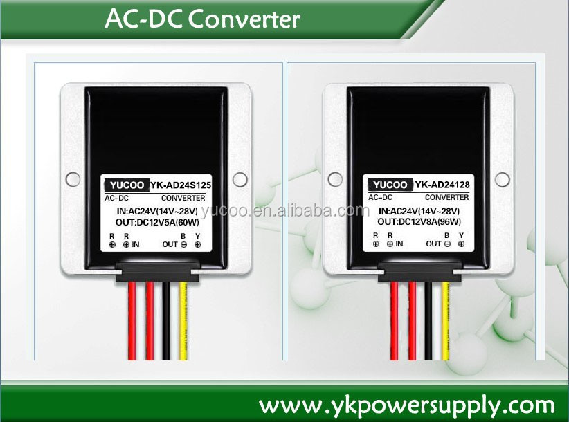 Transformer ac dc converter 24v to 12v Power Supply