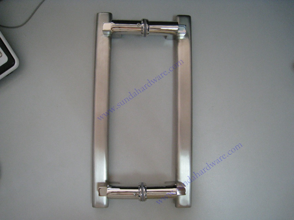 Stainless Steel Glass Pull Handle With Different Styles And Sizes