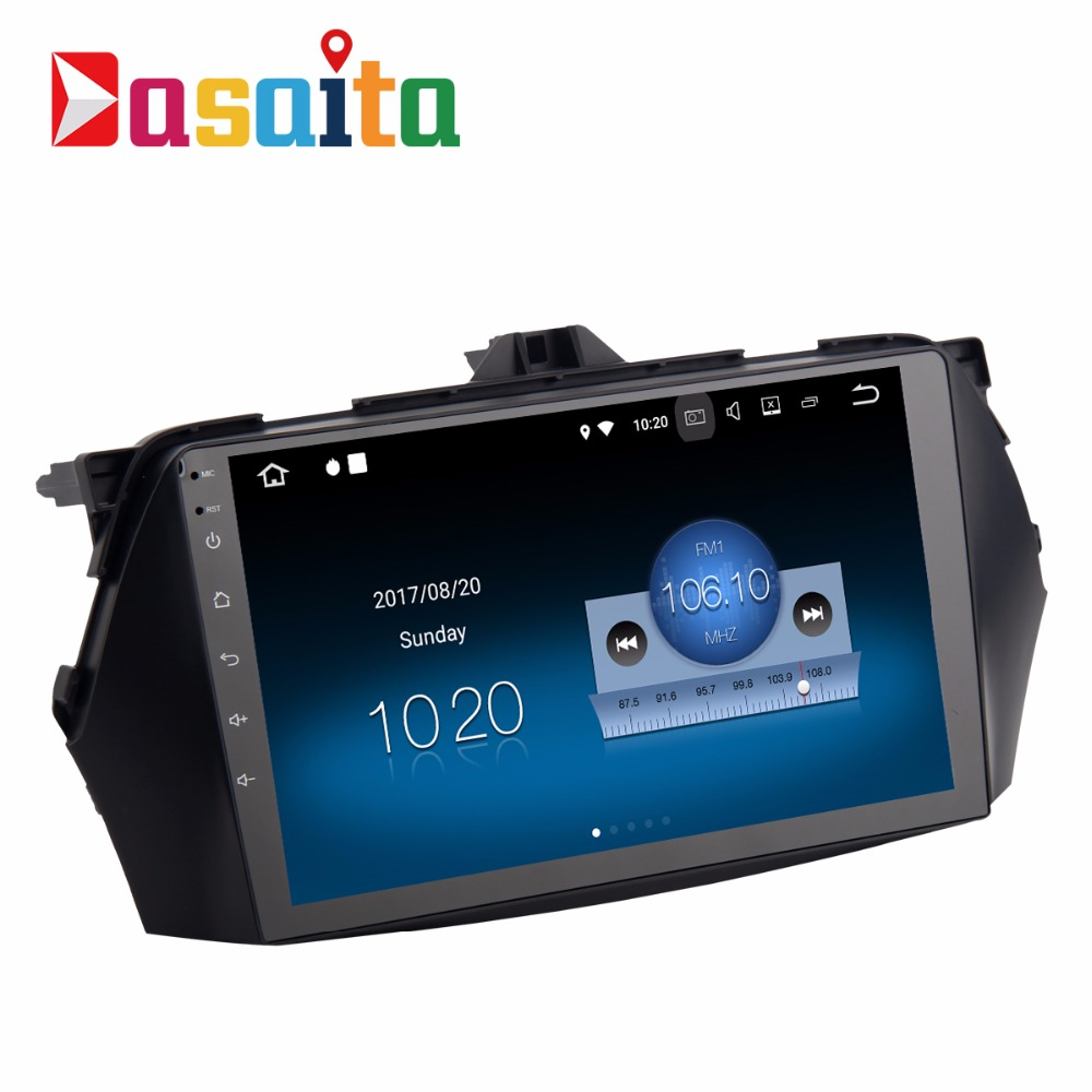 "Dasaita 9""Android 7.1 2 din car audio stereo car DVD player GPS Navigation for SUZUKI CIAZ/ALIVIO head unit"