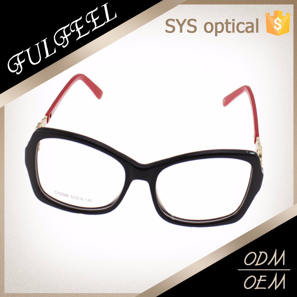 Eyeglass Frame Oxidation : Latest Fashion Rectangle Eyeglasses Frame Without Nose ...