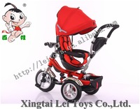Wholesale good baby tricycle price children bicycle / 2016 baby tricycle new models canopy