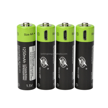 ZNTER Rechargeable Battery for battery AAA & AA Micro USB Lithium Polymer