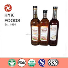 Vanilla/Hazelnut Flavor Syrup for 750ml &1000ml Pack