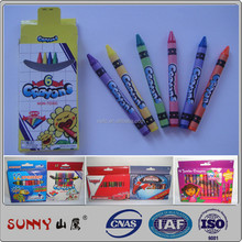 EN71 non toxic artist professional drawing color wax crayons and kids crayola