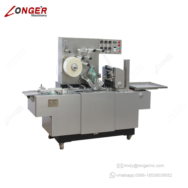 Industrial Commercial Package Cigarettes Cellophane Wrapping Machine Price